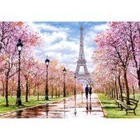 Puzzle 1000 pièces : Une romantique balade dans Paris