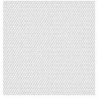 vidaXL Panneau de grillage de jardin Acier inox 50x50 cm 45x20x4 mm