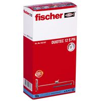Fischer Ensemble de chevilles en nylon avec vis DUOTEC 12 S 10 pcs