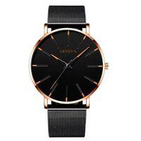 Montres ultra minces à la mode pour hommes minimalistes - montre à