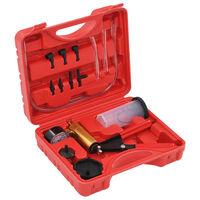 vidaXL Kit de purge de frein et pompe à vide