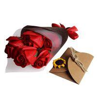 Roses de Savon dans une Boîte Cadeau