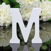 Alphabet de lettres en bois bricolage pour la fête et la décoration
