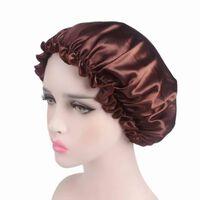Bonnet de douche élastique pour cheveux lâche, bande serrée pour