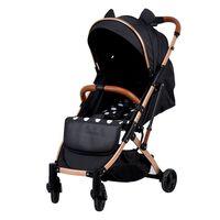 Poussette légère pour bébé, parapluie portable, chariot assis et