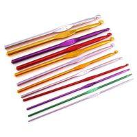 14 Pices D'aluminium De Couleurs Multiples, Crochets 15cm/ 6 Pouces