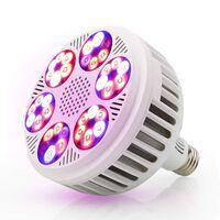 E27 led élèvent la lumière 120w ampoules à spectre complet pour