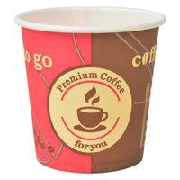 vidaXL Gobelet à café jetable 1000 pcs Papier 120 ml (4 oz)