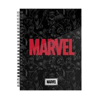 Marvel, Carnet Quadrillé A5 - Marvel Heroes