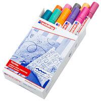 edding Marqueurs pour textile 10 pcs Multicolore 4500