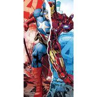 Marvel, Serviette De Plage - Captain America / Iron Man