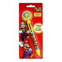 Super Mario, Stylo Multicolore