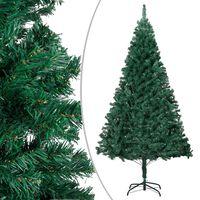 vidaXL Arbre de Noël artificiel avec branches épaisses Vert 180 cm PVC