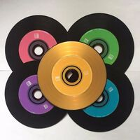 Wholesale 10 disques de qualité professionnelle multicolore de