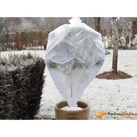 Nature Couverture polaire d'hiver 30 g/m² Blanc 0,64x10 m