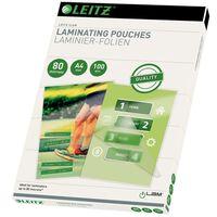 Leitz Pochette de plastification 80 Microns A4 100 pcs