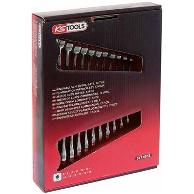 KS Tools Jeu de clés mixtes métriques CLASSIC 12 pcs 517.0052