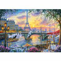 Puzzle 500 pièces : Paris à l'heure du thé