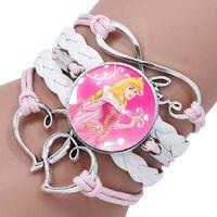 Bracelet de dessin animé pour enfants princesse Disney - bracelet