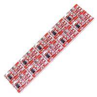 10 pièces module de bouton tactile ttp223 autobloquant, interrupteur