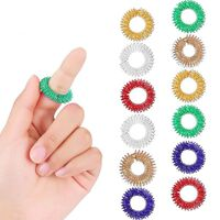 Anneau de doigt jouet soulagement du stress anneaux de ressort