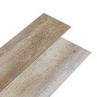 vidaXL Planches de plancher PVC 5,02m² 2mm Autoadhésif Délavage de bois