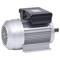 vidaXL Moteur monophasé Aluminium 1,5kW/2 CH 2 pôles 2800 tr/min