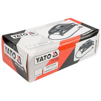 YATO Pompe à pied Noir