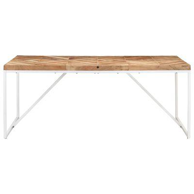 vidaXL Table à dîner 180x90x76 cm Bois massif d'acacia et de manguier