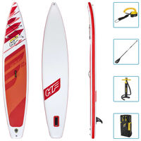 Bestway SUP gonflable Hydro-Force Fastblast Tech Set 381x76x15 cm
