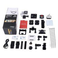 Caméra d'action étanche 4K Ultra HD Wifi 30m -2 Ltps Caméra de