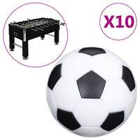 vidaXL Ballons de baby-foot 10 pcs 32 mm ABS