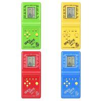 Jouet de jeu électronique lcd classique tetris à main - énigme