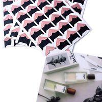 120 pcs / lot (5 feuilles) autocollants en papier or rose pour cadre