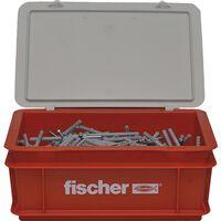 Fischer Ensemble de vis à clou avec chevilles N8x60 200 pcs