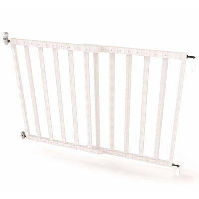 Noma Barrière de sécurité extensible 63,5-106 cm Bois Blanc 94153