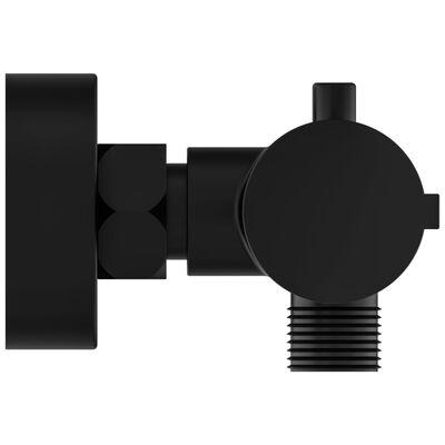 SCHÜTTE Mitigeur de douche thermostatique LONDON 5,5 cm Noir mat