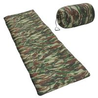 vidaXL Sac de couchage enveloppe pour enfants Camouflage 670 g 15°C