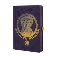 Bloc-notes A5 Premium - Infinity Gauntlet