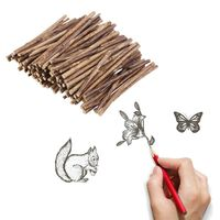 Bâtons de bois pour l'artisanat de bricolage - accessoires de