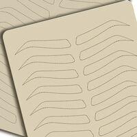 Fournitures de microblading pour la pratique des sourcils -