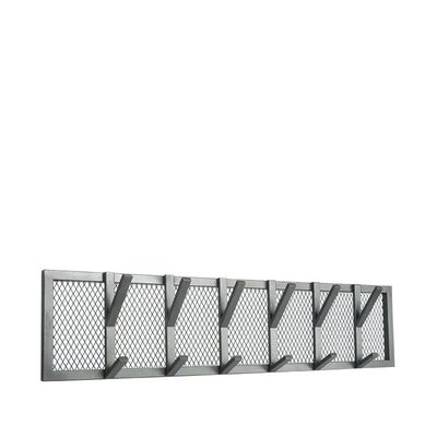 LABEL51 Porte-manteau Gruff 95x9x22 cm XL Gris