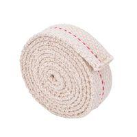 Noyau de mèche en coton plat solide pour l'éclairage de poêle