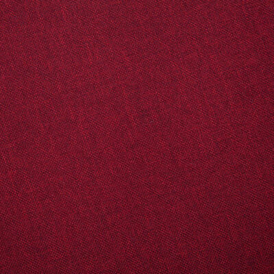 vidaXL Canapé à 3 places Tissu Rouge bordeaux