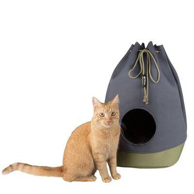 DISTRICT70 Lit/sac pour chats CASA Vert mousse