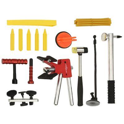 vidaXL Kit d'outils de débosselage sans peinture 80 pcs