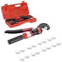 vidaXL Pince à sertir hydraulique 4-6-8-10-16-25-35-70 mm²