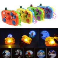 Projection animale mini caméra jouet avec lumière LED clignotant