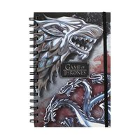 Game of Thrones Cahier - Loup & Dragon