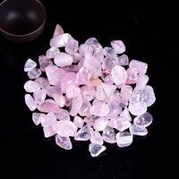 Pierre minérale d'énergie de guérison de gravier de cristal